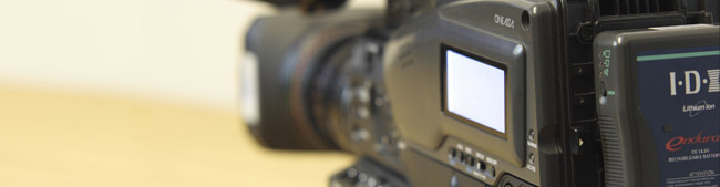 filming for business video equipment