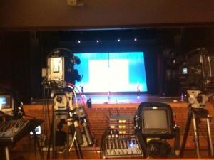 Cameras ready to film