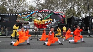 Lord Mayors show Kung Fu 1