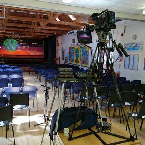 filming school shows